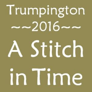 A Stitch In Time lettering jc