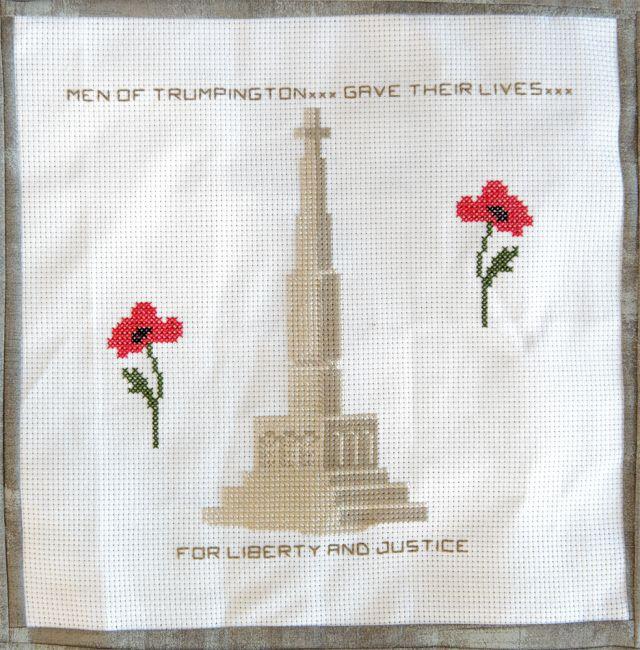 A2 Trumpington War Memorial by the Gibson Family ws