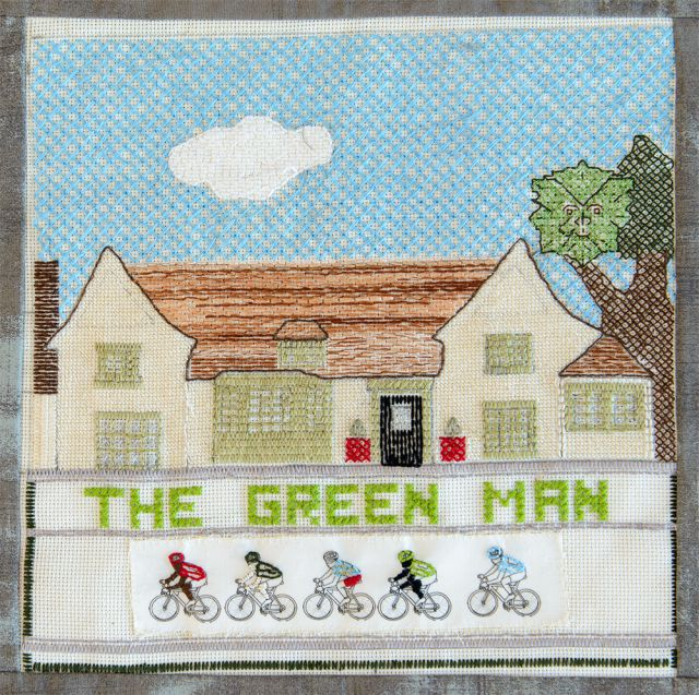 A6 The Green Man by Margaret Cowling ws
