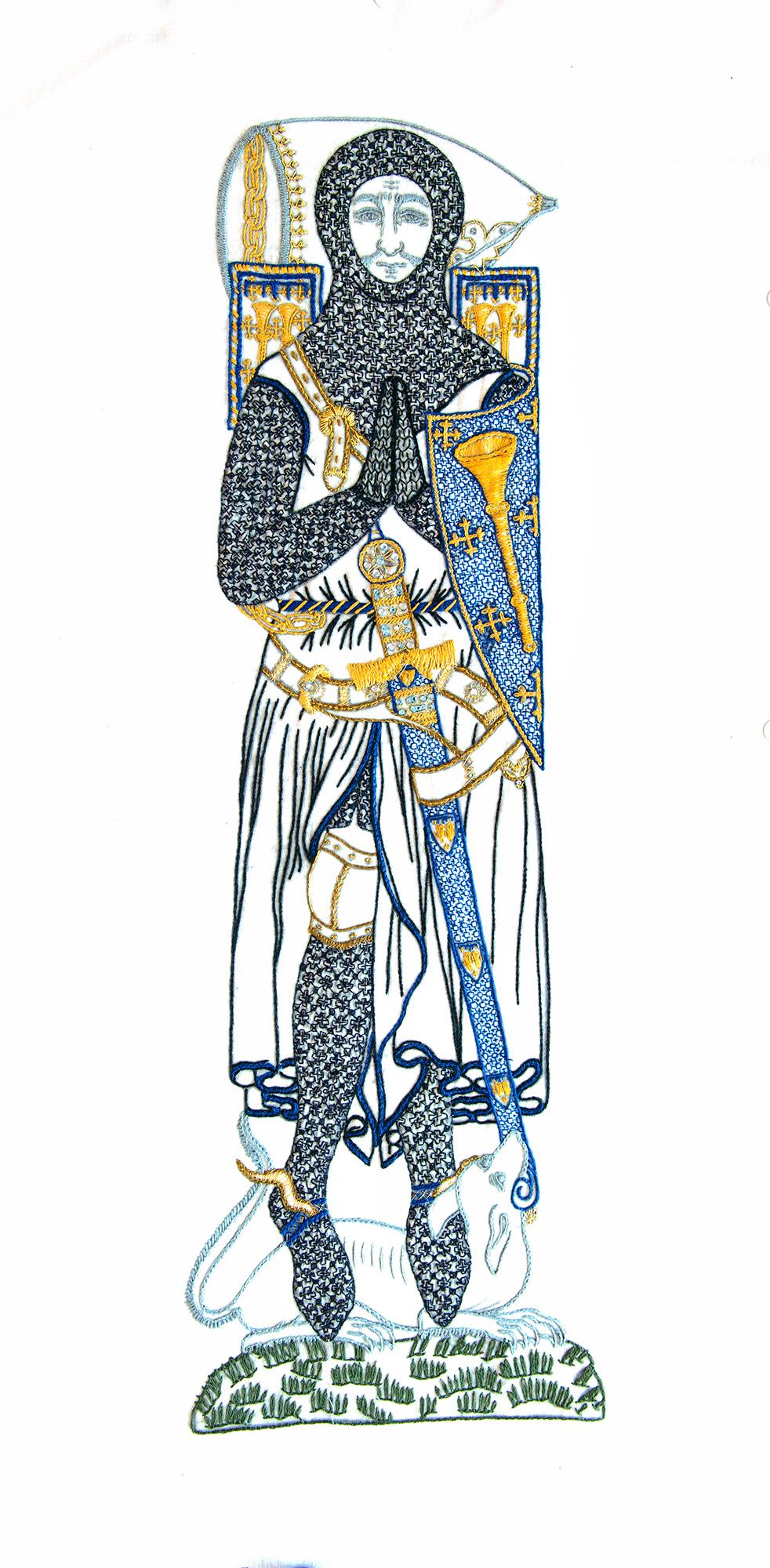 Sir Roger de Trumpington by Stephanie Worcester