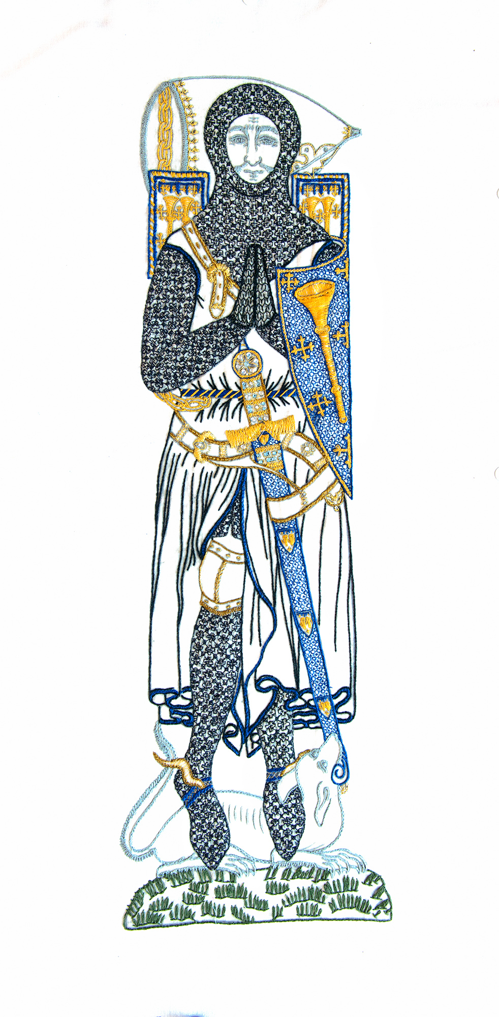 Sir Roger de Trumpington memorial