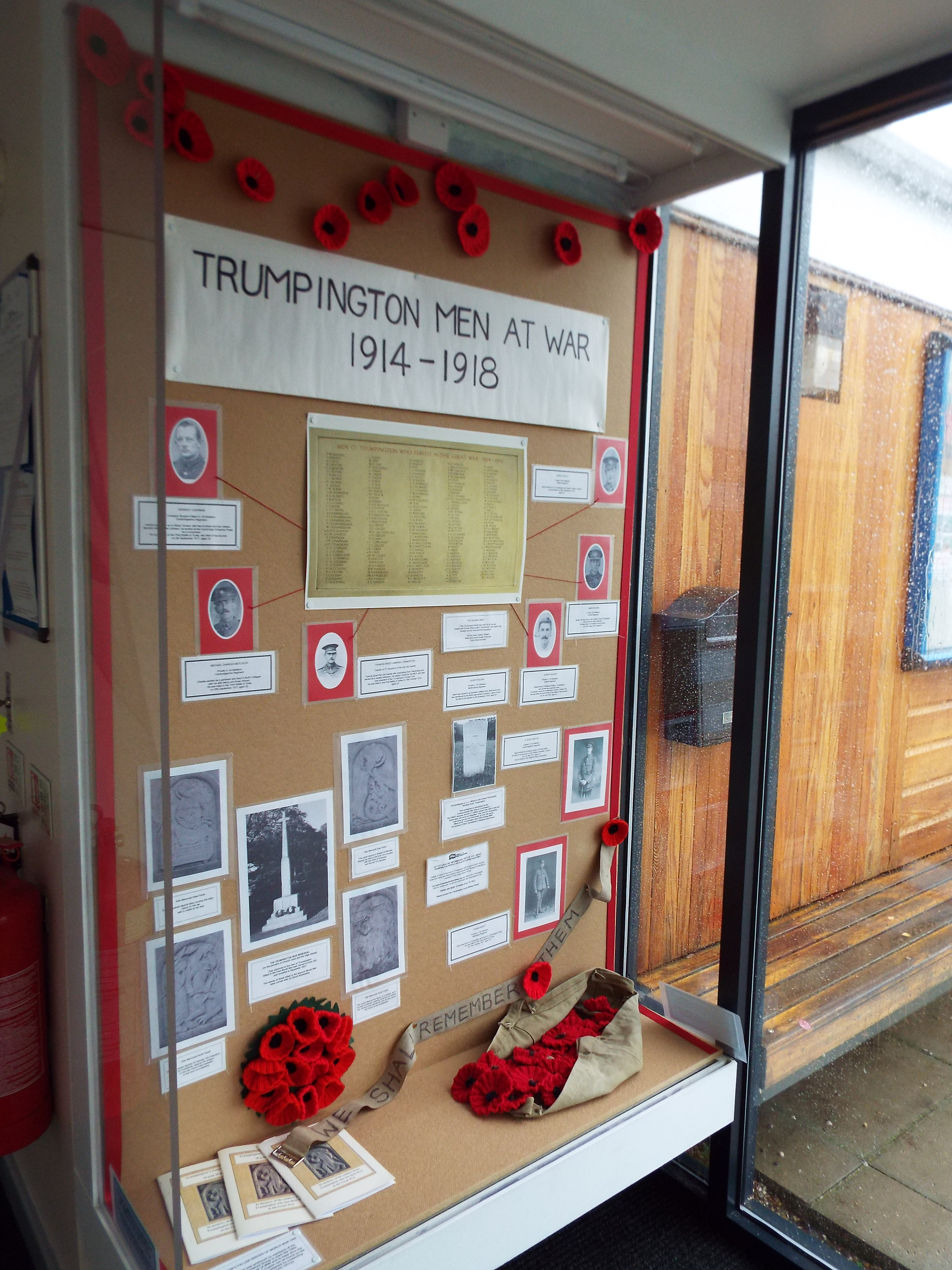 Remembrance display 2015